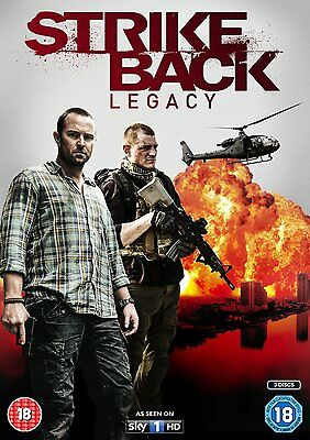 STRIKE BACK - Complete Series 5 Legacy Collection Boxset (NEW DVD)