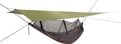 Exped Scout Hammock Combi - Includes Waterproof Tarp Cover & Mosquito Net