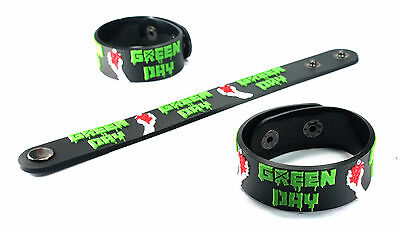 Green Day NEW! Rubber Bracelet Wristband Free Shipping dos vr302