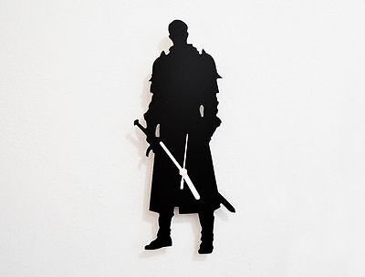 Knight Silhouette - Wall Clock
