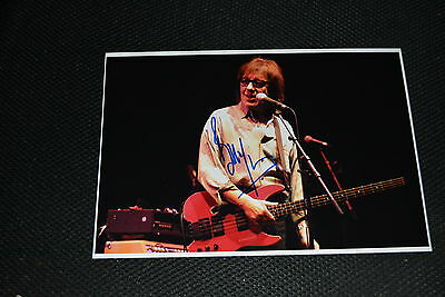 BILL WYMAN signed Autogramm  In Person 18x25 cm ROLLING STONES
