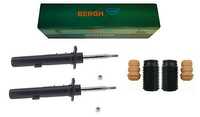 2x Front Shock Absorbers (Pair)  BMW 3 Series E90 E91 E92 E93 + Protection KIT