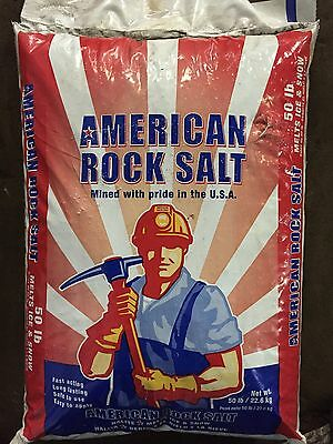 American Commercial Rock Salt 50 LB Bag