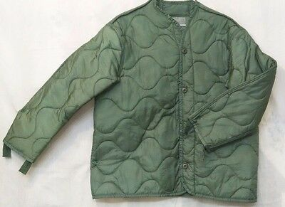 Cold Weather M65 Field Jacket Coat Liner  Large Size Us Military