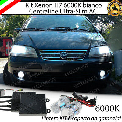 Kit Xenon Xeno Ac H7 6000K 35W Specifico Fiat Idea No Error Con  Garanzia