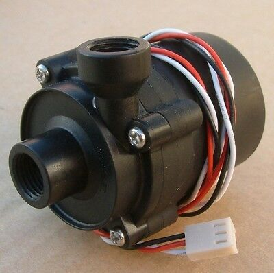 SC600 DC 12V 1.2A 14W Motor Water Cooling Pump No Brushless 3-pin Plug G1/4