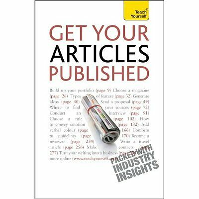 Get Your Articles Published Teach Yourself Bown Books Paperback /. 9781444103175