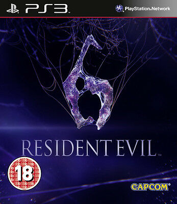 Resident Evil 6 ~ PS3 (in Good Condition)