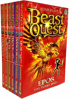 Beast Quest Pack: Series 1 Pack (6 books), RRP £29.94