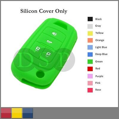 Silicone Cover Holder Shell fit for HONDA Remote Key Case 2 BTN 11 CLR DB