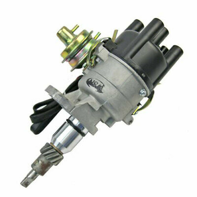 Dual Vacuum Electronic Ignition Distributor Fit For Toyota 3K 4K 5K Engine