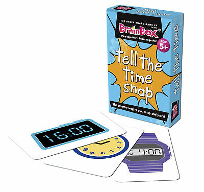 Tell The Time Snap Cards - Children's Fun Maths Time Clock Snap and Pairs Game