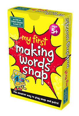 My First Word Snap Cards - Children's Spelling Word Snap and Pairs Game