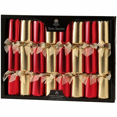 Tom Smith Luxury Christmas Party Crackers - Silver Plated Gifts