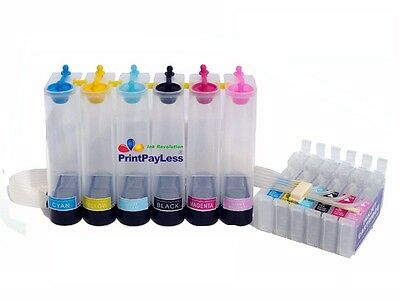 Empty CISS CIS Ink System for Epson 78 (Non-OEM) Artisan 50,R260,R280,R380,T078