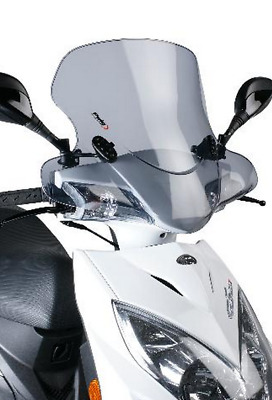 Kymco Super 8 150 Clear Touring Windshield New SUFPCT