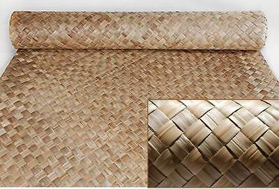 Lauhala Weave Matting Roll Commercial Grade-Tiki Bar Wall covering -4 Sizes