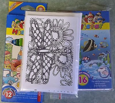 Adult Colouring Cards