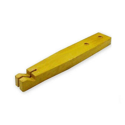 Wooden Bench Pin For Cutting Ring Sizing Jewelry Sizer O Rings Cutting Slot Jaws