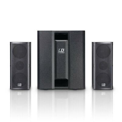 DAVE8-Roadie LD Systems 2.1 Split System 700Watt Mobile Presentations and Per...