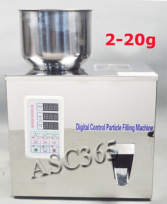 110V 1-20g Powder & Particle Weighing and Filling Machine Filler Subpackage