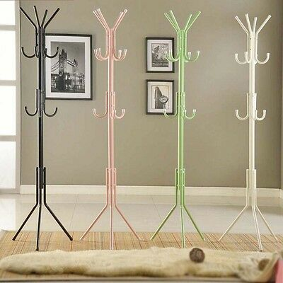 4 Color Multi Coat Umbrella Clothes Rack Stand Tree Style Hanger Hook AU STOCK