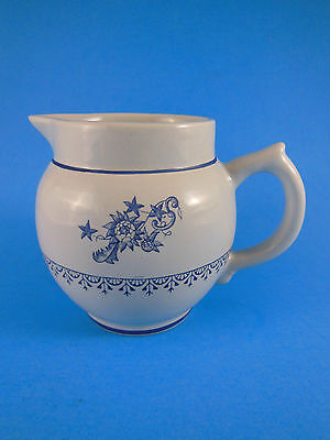 Crown Devon Blue Floral Creamer Chelsea Exclusive China Co Staffordshire England