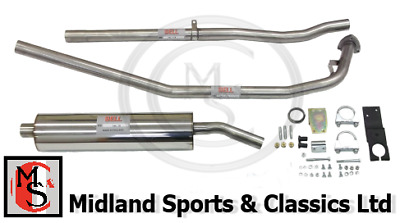 Bek170 - Mga Stainless Steel Exhaust System And Fitting Kit - Bss-Mg-009