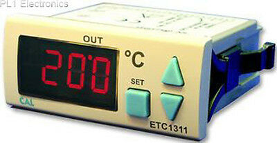 Cal Controls - Etc1311-Fe-Sm7 - Thermostat, J-Type, 1Relay, 9-24Vdc