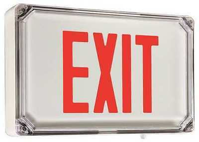 DUAL-LITE SEWLSRW Exit Sign,2.1W,LED,Red/Wht,1S