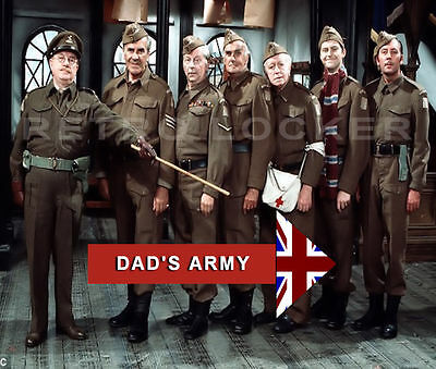 New Retro Dads Army Mouse Mat Pad Captain Mainwaring And Troops