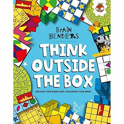 Brain Benders-Think Outside Box Moore Hungry Tomato Paperback / s. 9781910684047
