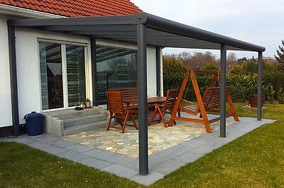 alu terrassen berdachung greenline carport terrassendach markise. Black Bedroom Furniture Sets. Home Design Ideas