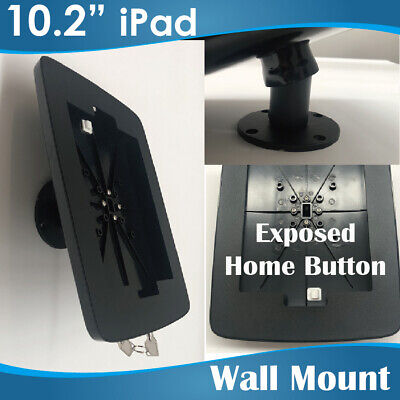 Lockable Metal wall mount  iPad Stands/ipad holder holders iPad 2/3/4/Air