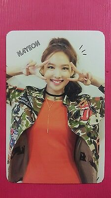 TWICE NAYEON Official Photocard Red (Adult) Ver. 1st Album The Story Begins 나연
