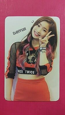TWICE DAHYUN Official PHOTOCARD Red (Adult) Ver. 1st Album The Story Begins 다현
