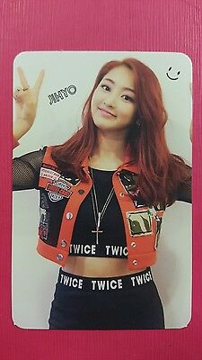 TWICE JIHYO Official PHOTOCARD Red (Adult) Ver. 1st Album The Story Begins 지효