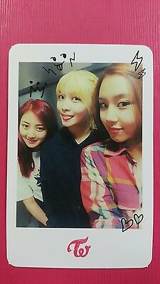 TWICE UNIT C Official Photocard 1st Album The Story Begins JIHYO MOMO CHAEYOUNG