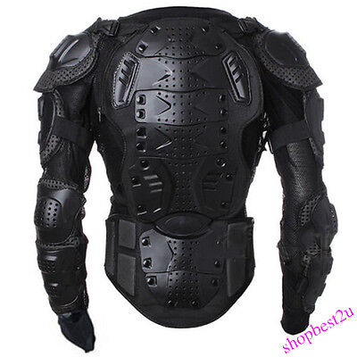 Motorcycle Full Body Armor Jacket Spine Chest Protect Gear S M L XL XXL XXXL