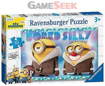 Ravensburger Minions Bored Silly Jigsaw Puzzle (35-Piece) - Games/puzzles New