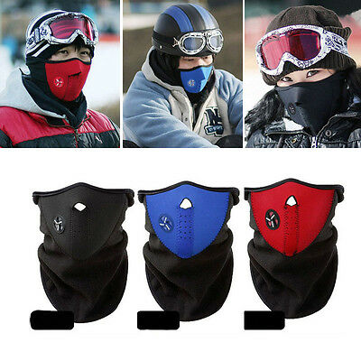 Warmer Motorcycle Skiing Snowboard Neck Face Mask Veil Cover Sport Snow Mask