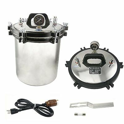 CE FDA 18L Autoclave Sterilizer Stainless Steel Steam Medical sterilization
