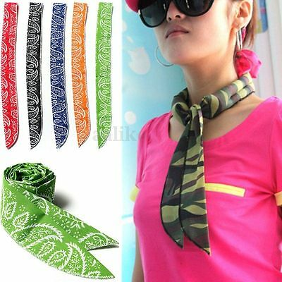 10X Non-toxic Personal Neck Cooler Scarf Body Ice Cool Cooling Wrap Tie Headband