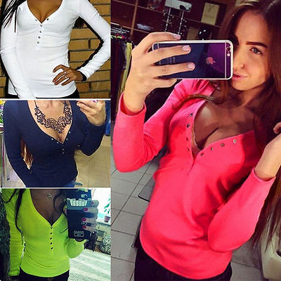 Fashion Women Summer Vest Top Long Sleeve Blouse Casual Tank Tops T-Shirt New