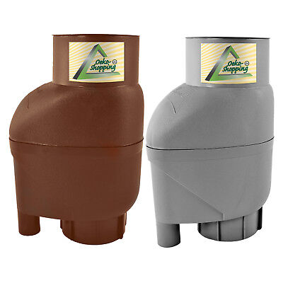 Rainwater Diverter Water Butt Filter Rain Water Collector Kit Filling Downpipe