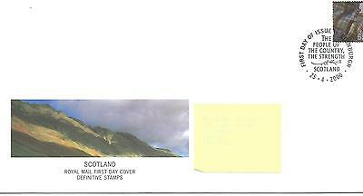 wbc. - GB - ROYAL MAIL FIRST DAY COVER - FDC - SCOTLAND -2000 - 65p value