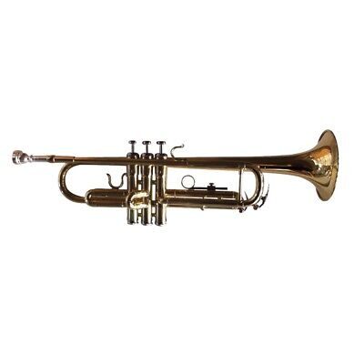 Woodstock Trumpet Key Bb Gold-Lacquered with Case