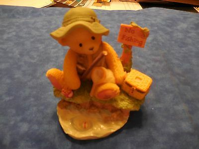 """Cherished Teddies Norm """"Patience Is a Fisherman's Virtue"""""""