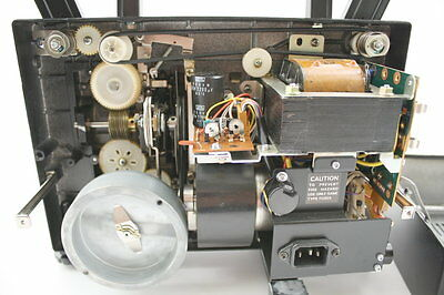 Elmo ST-600D Movie Projector 2 Belt Set Motor & Reel Square OEM Type