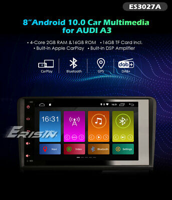 Radio Dvd Audi A3 Android 6.0  Bluetooth,gps,tdt, Hd, Mp4, Usb...